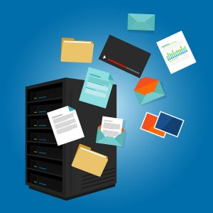 file server data such as document image video email folder vector